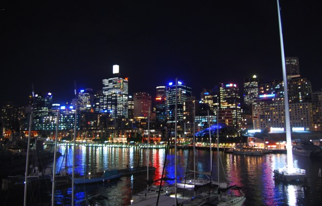 Darling Harbour has museums, attractions, restaurants, bars and entertainment