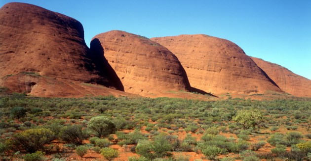 In the NT Red Centre, the Aboriginal sacred site of Kata Tjuta - Photo: Oliver Strewe