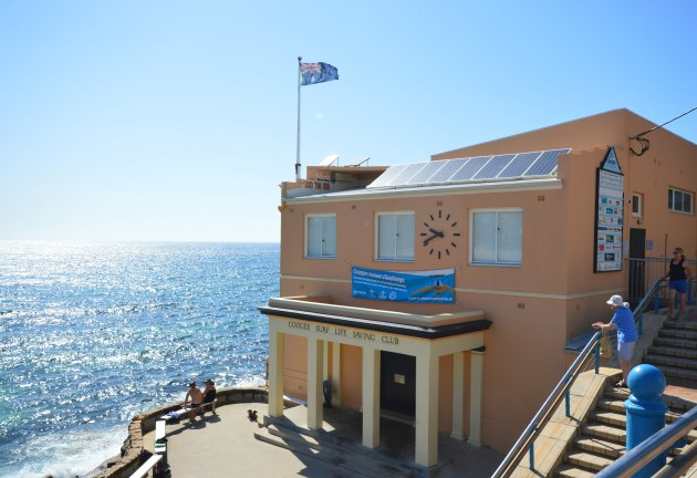 The Coogee Surf Life Saving Club overlooks the Beach