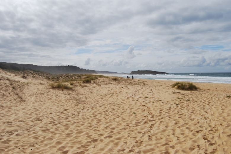 North Tura Beach in Shoalhaven is stunning even in winter, when this photo was taken.