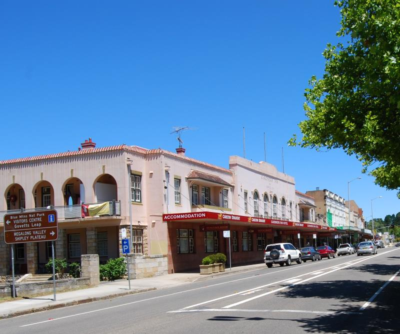 Places in the Blue Mountains like Blackheath have some great Restaurants and other Eateries