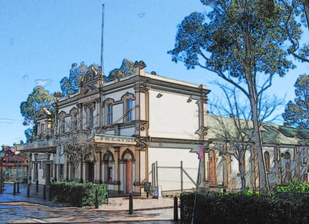 The Original Town Hall in Campbelltown
