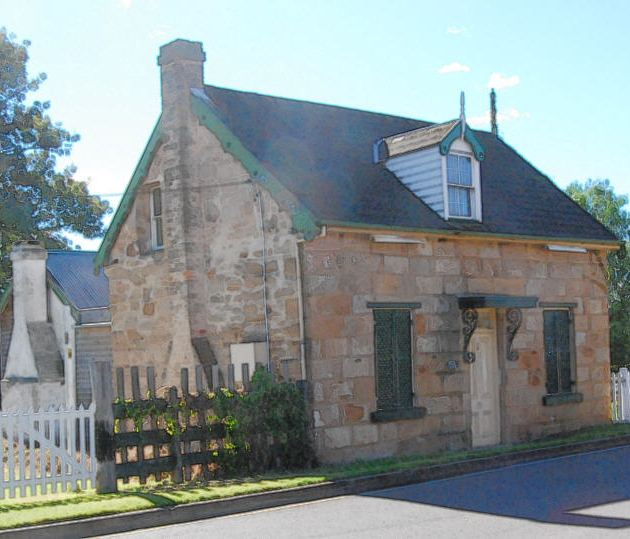 Emily Cottage at the corner of Camden and Old Menagle Roads, Campbelltown