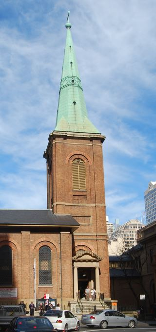 St James Church Steeple with Copper Sheathing