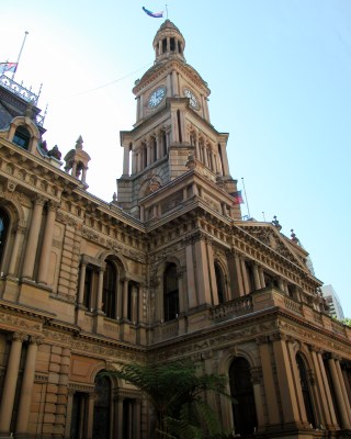 Town Hall Clock Tower, Sydney