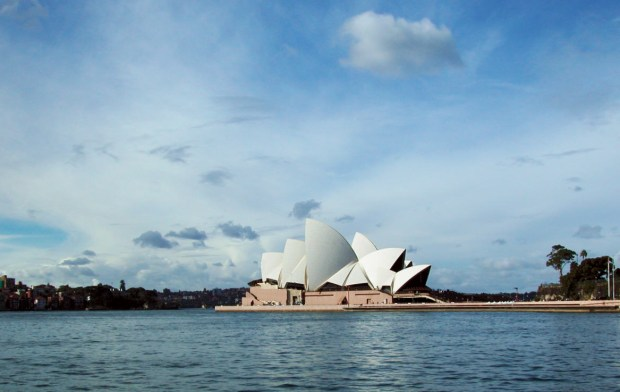 Sydney Harbour with the Opera House