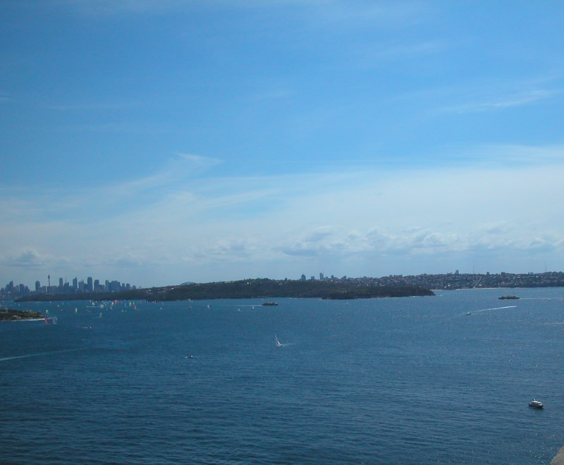View from North Head of Sydney Harbour and the City