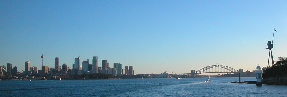 View of the Sydney Harbour Bridge