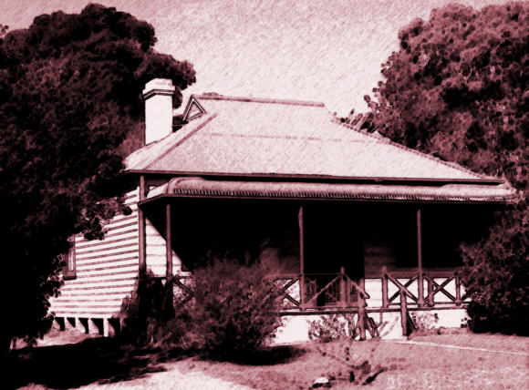 Worker's cottage of the type found in many Sydney suburbs
