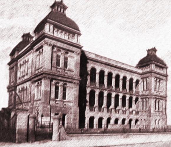 Sydney Hospital Entrance