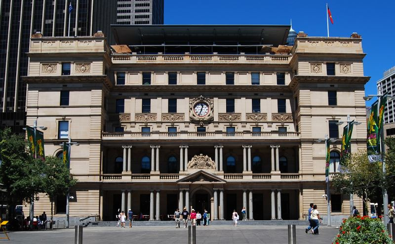 The Sydney Customs House, Circular Quay