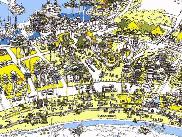 Map of Manly Sydney – Sydney Tourist Map