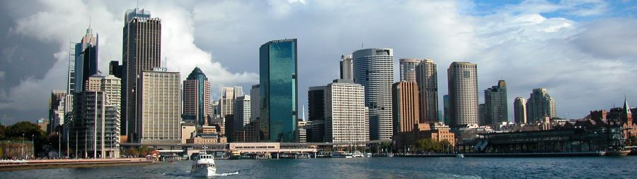 Circular Quay at the Foot of the City (North)