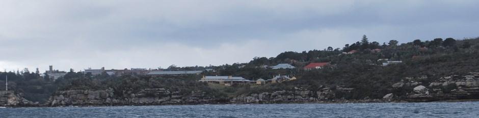 Part of the Sydney Harbour National Park