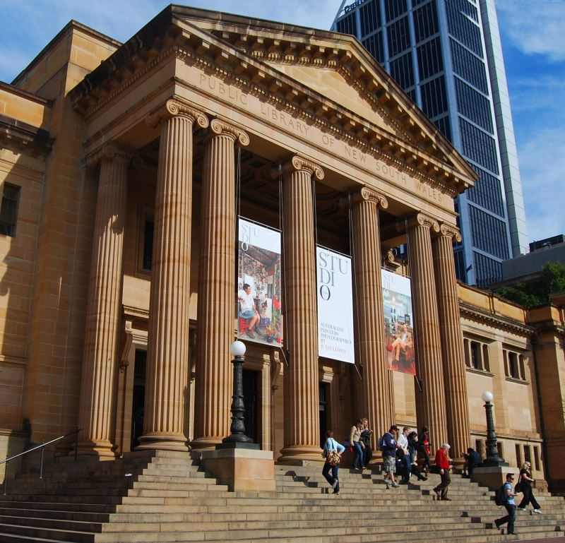 Mitchell Library Sydney Australia