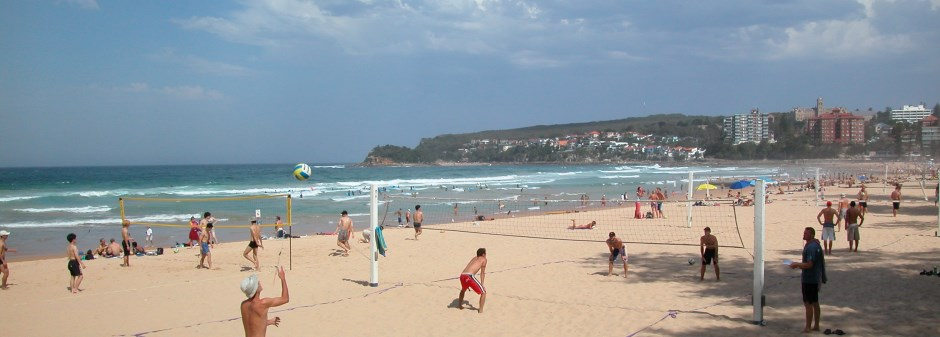Looking South Manly On A Sunday With Shelly Beach In The Distance