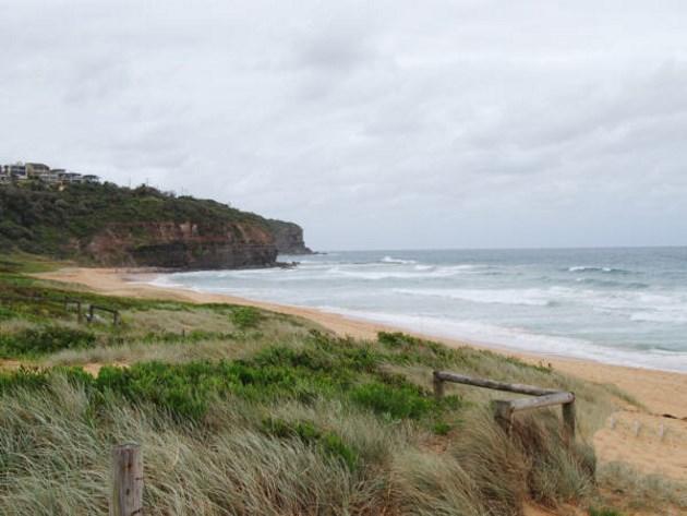 Bilgola Beach on the Northern Beaches of Sydney, NSW