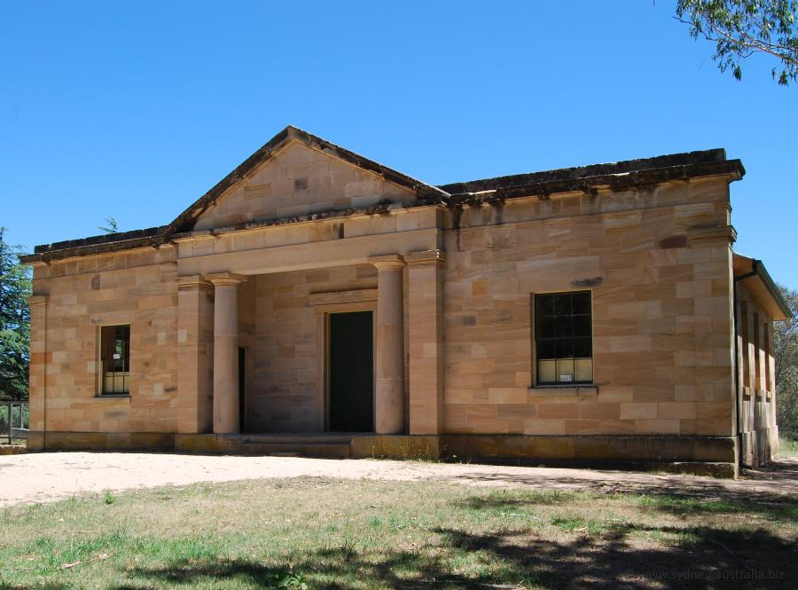 The Sandstone Hartley Courthouse