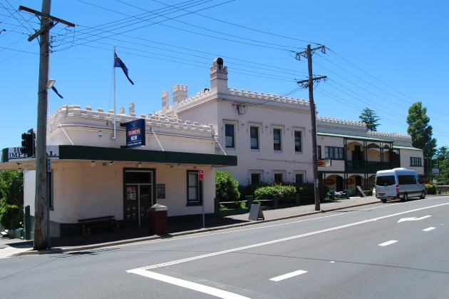 Imperial Hotel in Mt Victoria NSW, open since circa 1878.