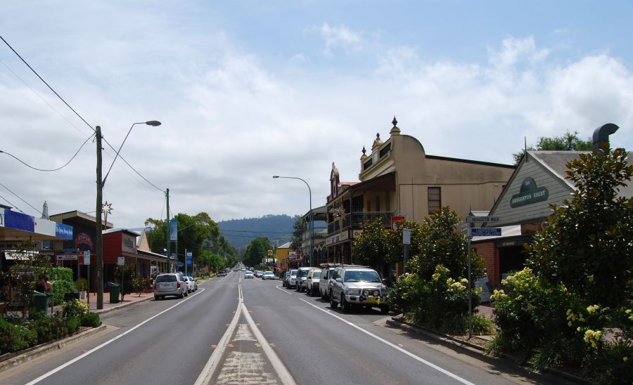 Berry has become a popular weekend destination for visitors from afar as Canberra and Sydney