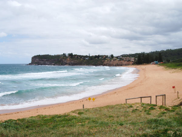 Even in winter, Avalon Beach is Beautiful
