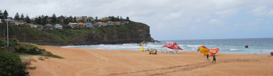 Bilgola Beach on a Winter's Day