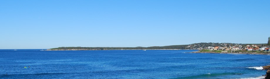 Bundeena Beach, located on the edge of the Royal National Park