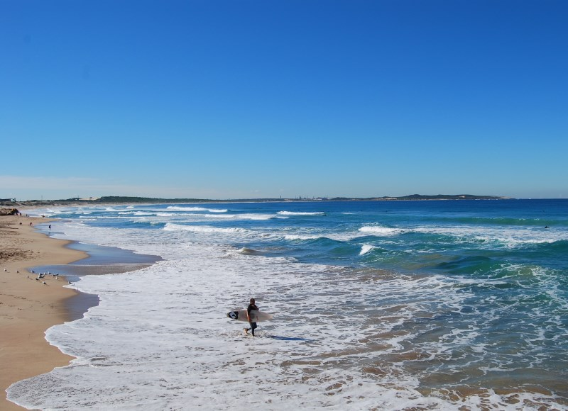 Surf, Sun, Sands and plenty of scenery at Cronulla Beach
