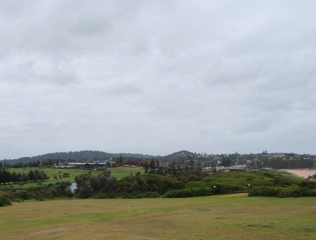 Mona Vale Golf Course and Club just behind the Beach