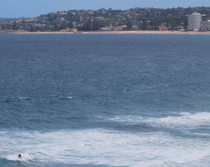 Narrabeen Beach adjoins the beach at Collaroy in the South