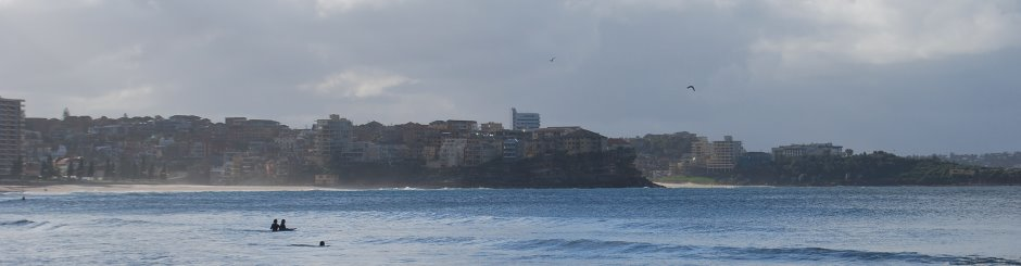 North Manly Beach, with Freshwater Beach just further North