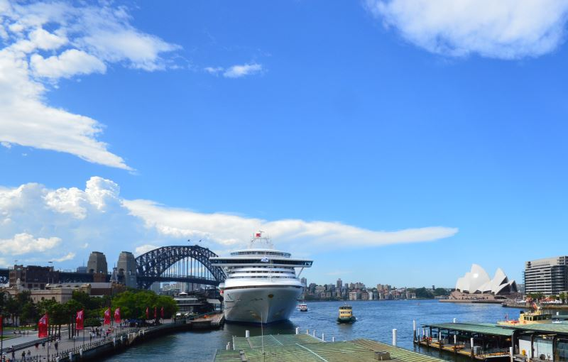 Sydney Cove, where you can find the Sydney Opera House, The Rocks and Harbour Cruises