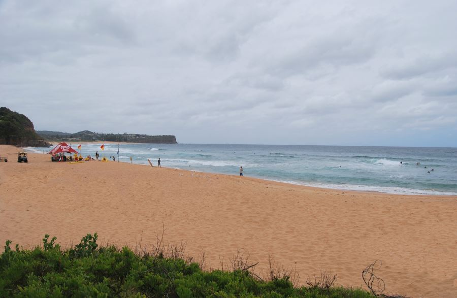 Warriewood Beach, with Mona Vale Beach just further North