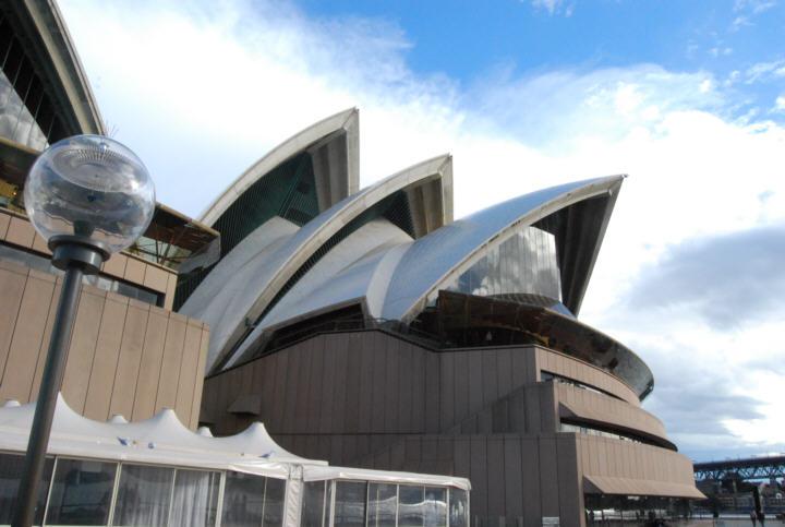 Opera House Angles - Seashells on the Seashore