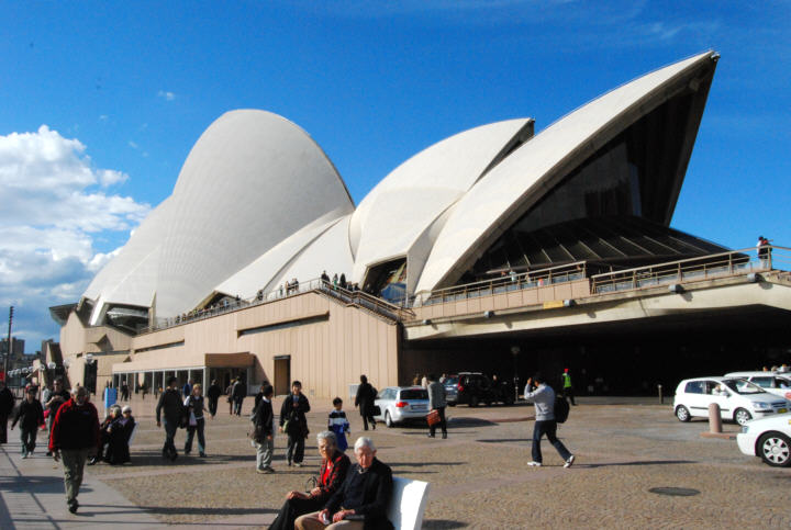 The Sydney Opera House - Venue for everything from Opera to being a gathering place for some of this city's greatest Events