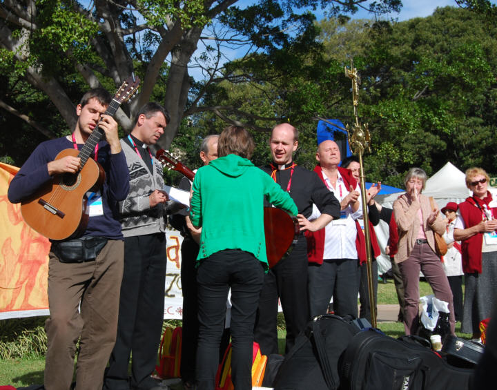 Live Music amongst the many events held at Hyde Park in Sydney