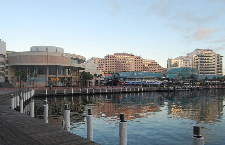 Darling Harbour has the Entertainment Centre, Convention Centre, Exhibition Centre, Museums and other Attractions.