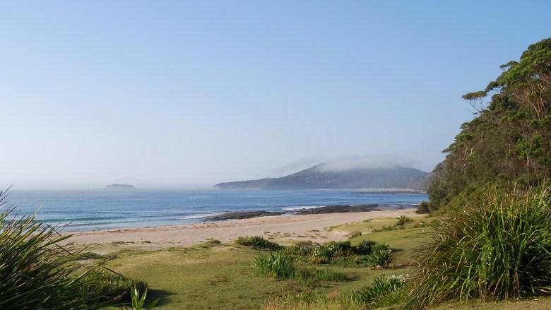 Morning Mists on a South Coast Beach, Murramang National Park.