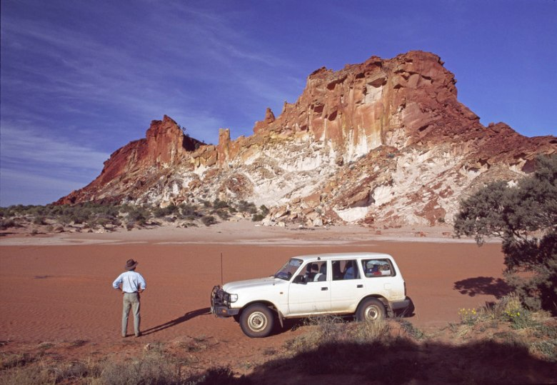Simpson Desert's James Range