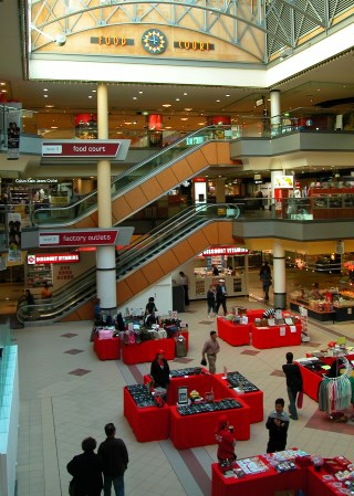 Shopping and Food Courts