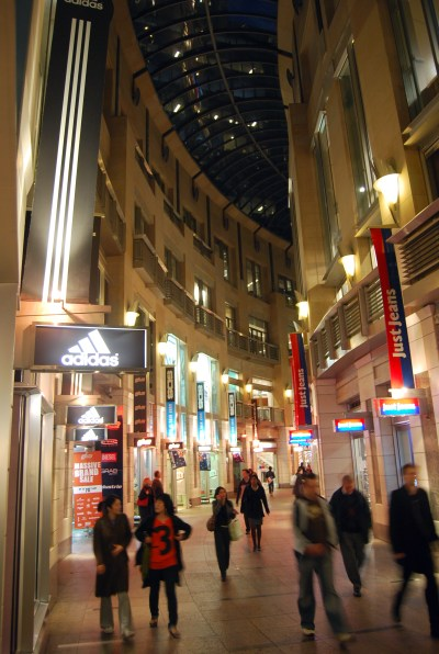 Night Shopping in the City is still growing in popularity. Photo: The Galeries Victoria.