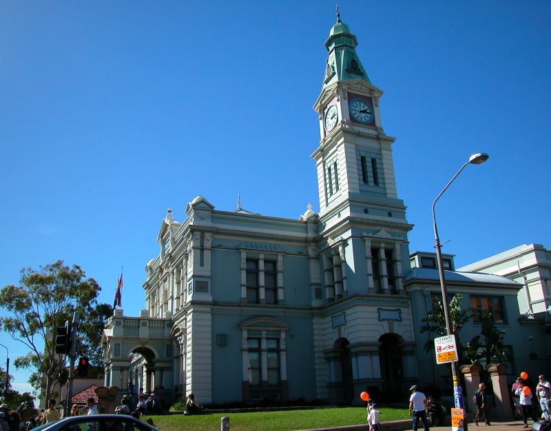Leichardt Town Hall at 107 Norton Street