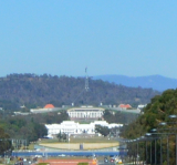 Canberra ACT Australia With Tourist Map