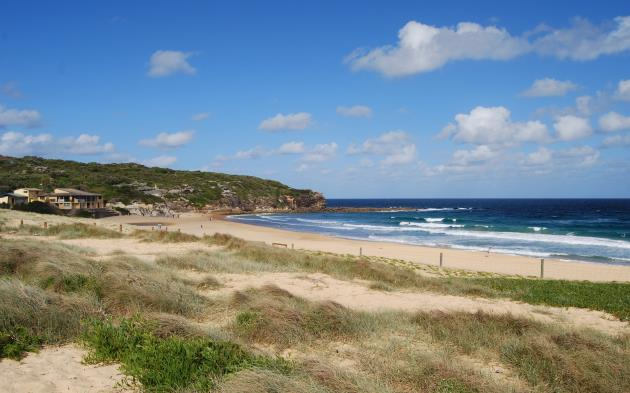 Sunny Days and Fine Weather are not uncommon in Australia: North Curl Curl Beach