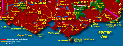Touring the Victoria Coast