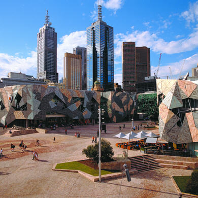 Federation Square, Melbourne Australia