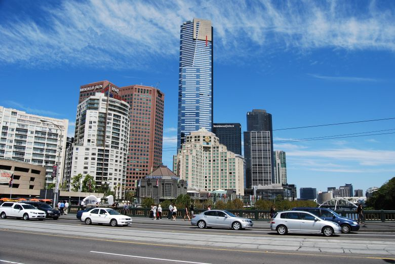 Eureka Tower Melbourne Australia