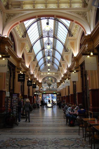 The Block Shopping Arcade Melbourne Australia.