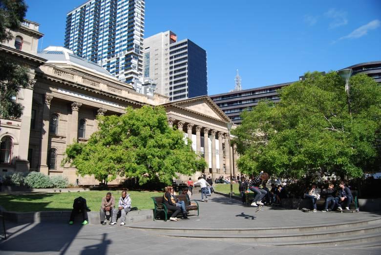 Victoria Australia State Library