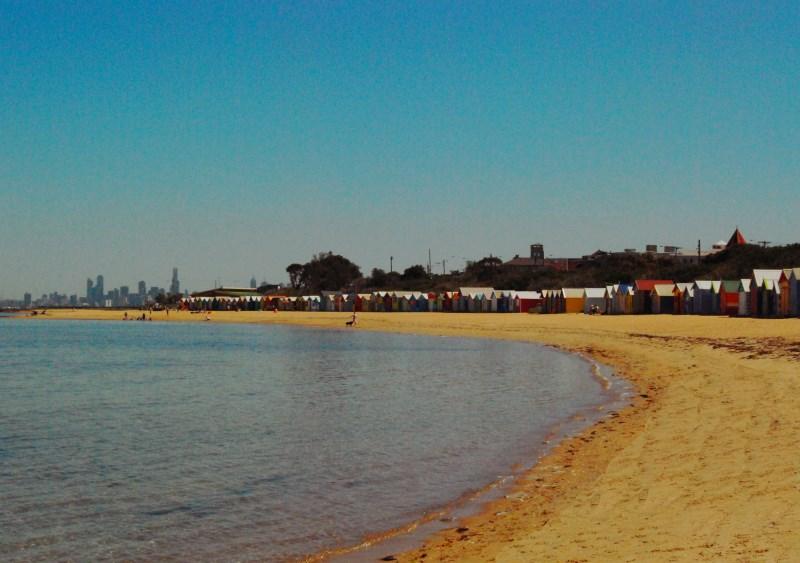 St Kilda Brighton Beach Melbourne Australia CBD